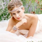 Pink Bridal Headpiece