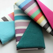 Striped Clutch Wallets