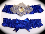 Cobalt Blue Regal Garter