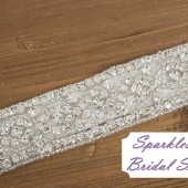Cody Bridal Sash - SparkleSM Bridal Sashes