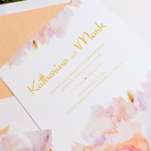 Blush Romance Invitations