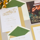 Tuscan White Invitation