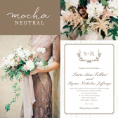 The Rustic Wreath Invitation