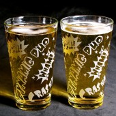 Comic Book Superhero Pint Glasses, Groomsmen Gifts