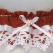 Copper & Lace Keepsake Garter