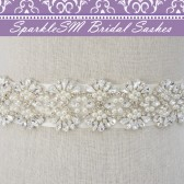 Madison Bridal Dress Sash