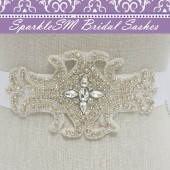 Brooke Bridal Sash