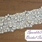 SparkleSM Bridal Sashes - Leighton