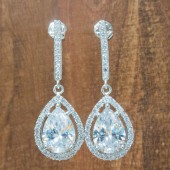 Everly Bridal Earrings