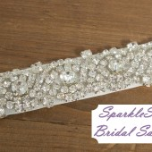 SparkleSM Bridal Sashes - Bailey