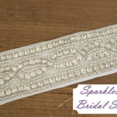 SparkleSM Bridal Sashes - Lexie