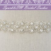 Kenzie Bridal Sash Belt