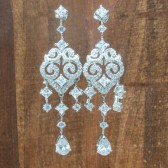 Harper Wedding Earrings