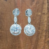 Monroe Wedding Earrings