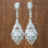 Addison Wedding Earrings
