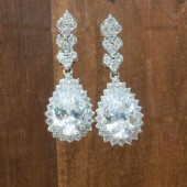 Tori Wedding Earrings
