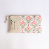 Custom Made Bridesmaid Clutch with Initial