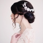 Floral hair comb - style 2001