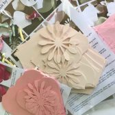 DIY paper flower kits
