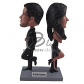 Tough Loving Couple Custom Bobblehead