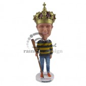 King of the Castle Custom Bobblehead