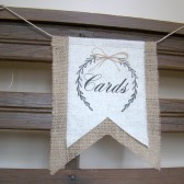 Wedding Reception Cards Banner