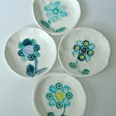 Flower jewelry dish favor