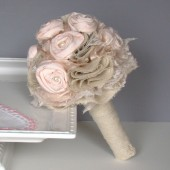 Blush Fabric Bouquet