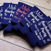 Bacheloretty party koozies