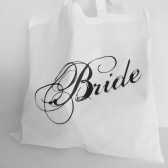 Brides tote bag