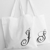 Monogramed Bridesmaids Tote