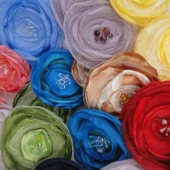 Handcrafted Fabric Flowers