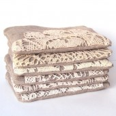 Vintage Lace Doily Clutches