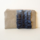 Blue Ombre Clutch