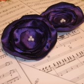 Royal Purple Hair Accessories