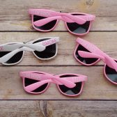 Personalized sunglasses, bridesmaid sunglasses