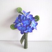 Hydrangea, boutonniere, groom, best man, wedding