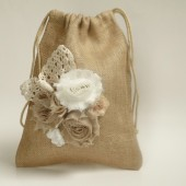 Dollar dance, flower girl basket, burlap and lace,