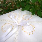Handkerchief Ring Bearer Pillow
