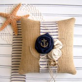 Nautical Ring Cushion