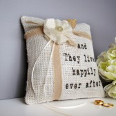 Happily Ever After Ring Cushion