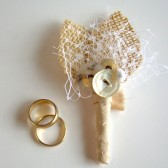 Vintage Inspired Boutonniere