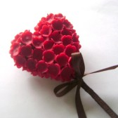 wedding, boutonniere, groom, best man, heart