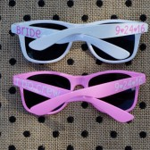 Personalized Sunglasses, Beach Wedding Favor, Bachelorette Party Favor