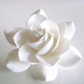 Gardenia Bridal hair Clip, wedding, accessories, bride, bridesmaid