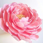 Peony Cake Flower, wedding, cake, topper, reception