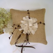 Fall Ring Bearer Pillow