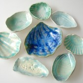 seashell favor bowls