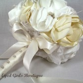 Ivory and Cream Bridal Bouquet