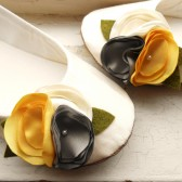 Custom Designed Bridal Flats